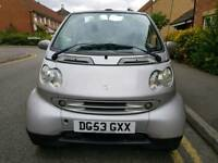 Smart Fortwo 0.7 City Passion Cabriolet 2dr Auto FSH Warrantied Miles