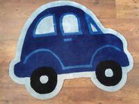 Car rug for children's bedroom/playroom