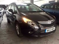 2013 Vauxhall Zafira Automatic 2.0 Diesel 25,000 Miles