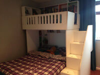 Amazing kids double bed with loads of storage