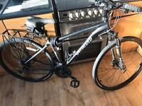 Specialized hybrid crosstrail sport disc medium frame bike