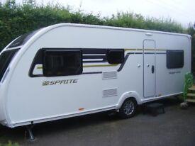 Swift Sprite Major 6TD 6 Berth Touring Caravan
