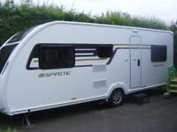 Swift Sprite Major 6TD 6 Berth Touring Caravan