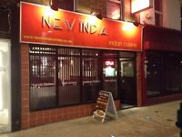 INDIAN RESTAURANT FOR SALE IN EAST STREET, BROMLEY. (NEAR THE TOWN CENTRE)