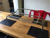 BMW Z3 CONVERTIBLE CABRIOLET CHROME LUGGAGE BOOT ROOF RACK £100
