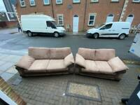 two seater and three seater sofa Delivery available