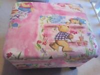 Teddy bear sowing/craft box