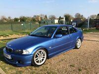 Bmw e46 330ci Manual Estroil Blue £1995