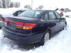 2000 Saturn L LS1-SOLD AS IS-Power Wdws/Drs/Mrrs-Cruise-AC-Tilt London Ontario image 2
