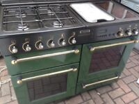 Rangemaster Range dual gas cooker....Mint Free Delivery