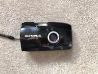 Olympus stylus epic / mju ii (2) point and shoot 35mm camera