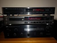 Yamaha Stereo Amplifier AX-430 + cd player and radio, excellent condition! For SALE!