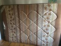 Standard double mattress