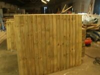 fence panels close board heavy duty only £18 for a 6x6 other sizes all made to order