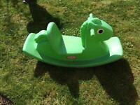 Little Tikes Garden rocking horse toy