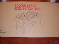 Football Table & Table Top Pinball Machine