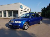 **2004 SKODA SUPERB*3 MONTHS WARRANTY,1 YEAR MOT,WARRANTED MILES, 2595 ONO