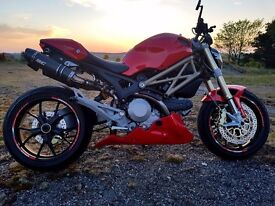 Ducati Monster 796 anniversary edition