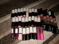 Make up joblot 33 lipsticks makeup £30