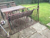 Garden fence gates very well made