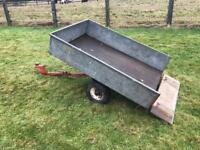 Westwood tractor tipper/road trailer