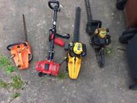 Garden petrol tools