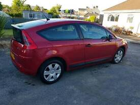 2006 Citroen C4 in red, New MOT, £1000 just spent!