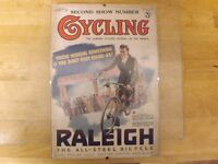 Charming original colour front cover from Cycling Magazine 1938