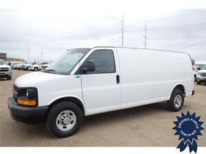 2013 Chevrolet Express Extended Cargo Van, 12,877 KMs, 4.8L Gas