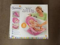 Pink Bath support BNIB Summer