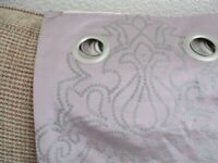 NEXT CURTAINS 90 X90 LINNED
