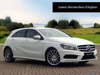 Mercedes-Benz A Class A180 CDI BLUEEFFICIENCY AMG SPORT (white) 2014-04-11