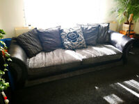 2 x DFS Sofas - 3 & 4 seater - can sell separately