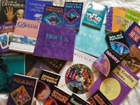 Books - Tarot/Dreams/Witchcraft/Palm Reading/ Astrology Large Collection