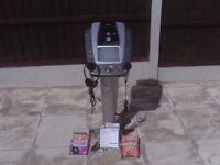 Karaoke Machine with mic, ear phones, discs and manual