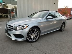 2015 Mercedes-Benz C-Class C400 4MATIC HEADS UP DISPLAY FULLY LO