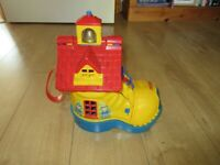 VINTAGE TOY BOOT with loads of hidden compartments - GREAT FUN - Fabulous condition!