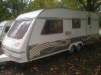 4 berth twin axel explorer 1997. With extras