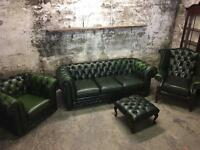 Thomas Lloyd Four Piece Chesterfield Suite
