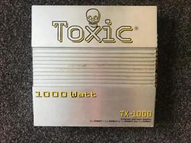 Toxic 4 channel amplifier - 1000 watts
