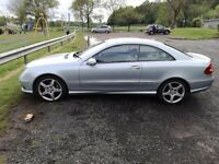 2008 Mercedes CLK Sport - AMG styling MOT/Service until March 2018