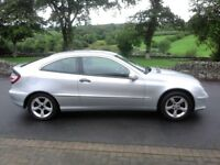 Dec 07 Mercedes C180K SE Coupe***Only 80,000 Miles***