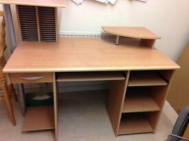 Desk suitable for office or student bedroom