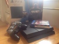 Ps4 1TB Boxed + two games