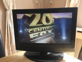 """Kenmark 19"""" TV with built in DVD player"""