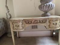 Shabby Chic Vintage Dressing Table/Desk