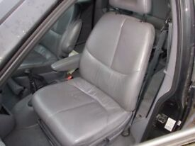 Chrysler Grand Voyager passenger side front leather seat 2000