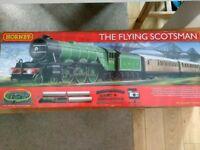 Hornby flying Scotsman electric train set