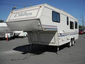 1991 general-coach Citation Supreme 26 Foot Fifth Wheel Travel T