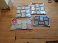 SET OF 3 VINTAGE STYLE MULTI PICTURE FRAMES + 1 FREE
